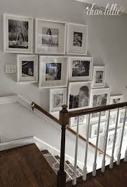 Staircase Wall Ideas Best 25 Staircase Wall Decor Ideas On Pinterest Stair Wall