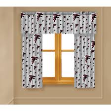 nfl atlanta falcons window curtain panels walmart com