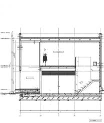 Minimalist Home Design Floor Plans by Different Section Compact Two Story House Keeping The Noise Away