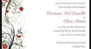 design your own wedding invitations template gallery party