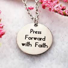 faith gifts lds jewelry crossfit gifts lds gifts press forward with faith