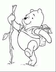 great coloring page winnie the pooh pages with pooh coloring pages