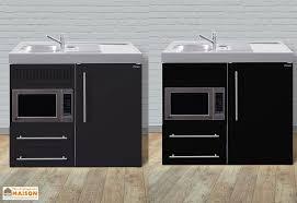 cuisine en metal mini cuisine avec frigo et micro ondes mpm100 6 coloris mini