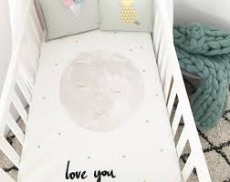 Organic Crib Bedding by Fitted Crib Sheet Etsy