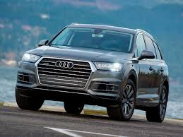 audi q7 cargo capacity 2017 audi q7 specs and features carfax