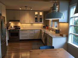 kitchen cabinets ikea wooden counter fancy white track lights