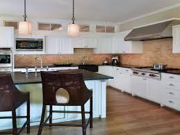 kitchen the benefits to use brick kitchen backsplash all about