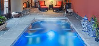 swiming pools h2x swim spa on wood patio backyard ideas with dual