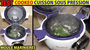 recette de cuisine cookeo cookeo recette moules marinières test cuisson sous pression moulinex