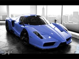 blue ferrari wallpaper black and blue ferrari 9 widescreen wallpaper hdblackwallpaper com