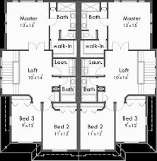 Craftsman Duplex House Plans Luxury Duplex House Plans Floor Plans Oregon