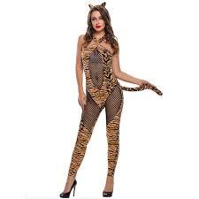 cat costume black fishnet leopard flannel hot cat costume