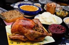 a content marketing thanksgiving feast with all the fixings