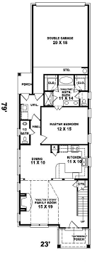 homes for narrow lots narrow lot house floor plans cabin for lots duplex with loft