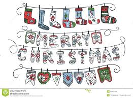 funny christmas card templates free christmas garland of knitted letters flags socks stock vector christmas cute design flags funny