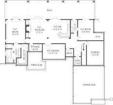 fine 2 story house floor plans with basement home garage and