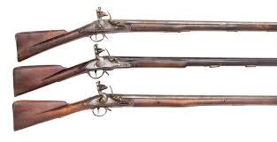 land pattern en francais a 10 bore flintlock musket of sea service type and a 10 bore