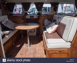 volkswagen camper inside vw van interior stock photos u0026 vw van interior stock images alamy