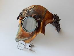 diy steampunk mask the creative studio steampunk mask no lenses