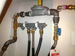 gas lines to boiler and other appliances u2014 heating help the wall
