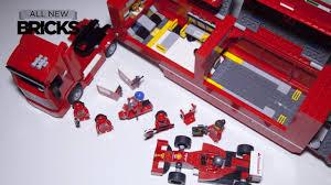 ferrari truck lego speed champions 75913 f14 t u0026 scuderia ferrari truck speed