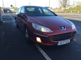 peugeot 407 wagon used peugeot 407 2009 petrol 1 8 wine for sale in laois