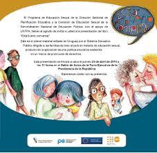 anep lanzó manual de educación sexual para niños y jóvenes