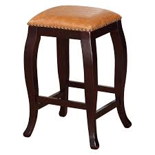 linon san francisco square top counter stool caramel 24 inch