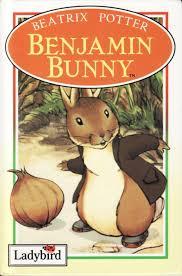 rabbit and benjamin bunny benjamin bunny ladybird book rabbit and friends gloss