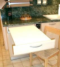 table cuisine escamotable tiroir cuisine table escamotable cuisine table escamotable table cuisine