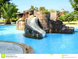 kids pools with slides interior design