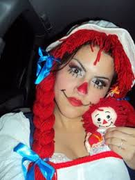 Raggedy Ann Costume 30 Easy Diy Halloween Costumes For Women Easy Diy Halloween