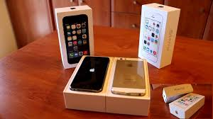 Gray And Gold Iphone 5s Space Gray 64gb Gold 32gb Youtube