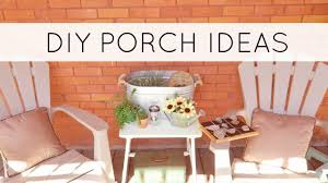 Summer Porch Decor by Summer Porch Tour With Dollar Tree Diys Outdoor Diy And Decor