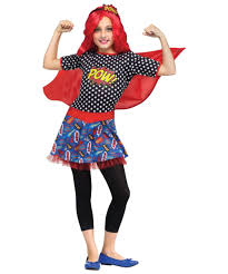 Halloween Costume Tween Girls Comic Book Cutie Tween Girls Costume Kids Costumes Kids