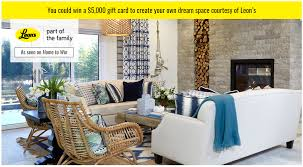 win a 5 000 00 leon u0027s gift card free stuff in canada