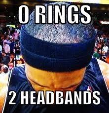 Lebron Headband Meme - lebron james double headband hairline meme lebron james memes