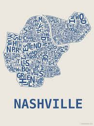 nashville on map nashville neighborhoods map my