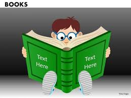 child reading book powerpoint ppt templates powerpoint