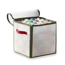 Christmas Ornament Storage Box With Dividers by Best 25 Christmas Storage Boxes Ideas On Pinterest Ornament