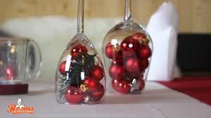 tischdeko zu weihnachten günstig selbst basteln