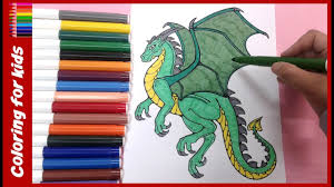 animal coloring pages how to color dragon coloring pages