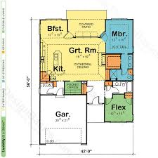 Ideal Homes Floor Plans House Plans With Pocket Offices Design Basics