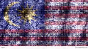 Maylasia Flag Spangle Flag Malaysia Stock Animation 266474