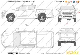 free printable blueprints the blueprints com vector drawing chevrolet colorado double cab