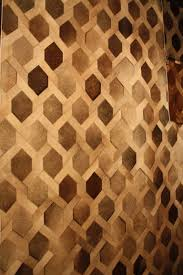 Hair On Hide Rug Hair On Hide Is A Trending Finish For Furniture