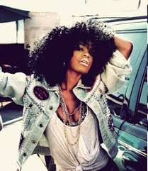 black women platham short hair teyana taylor worked a series of colorful tribal looks in a photo