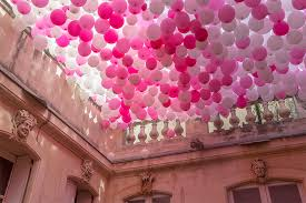 Pink Balloon Decoration Ideas Art Birthday Party Ideas Image Detail For Chest Minecraft