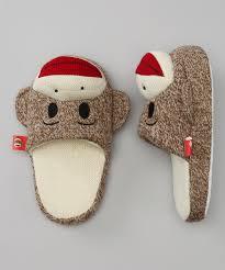 Sock Monkey Baby Bedding Street Player Maxx The Sock Monkey Slippers By Sock Monkey On