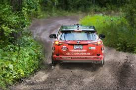 toyota rav4 racing toyota and ford all up ahead of rally america race